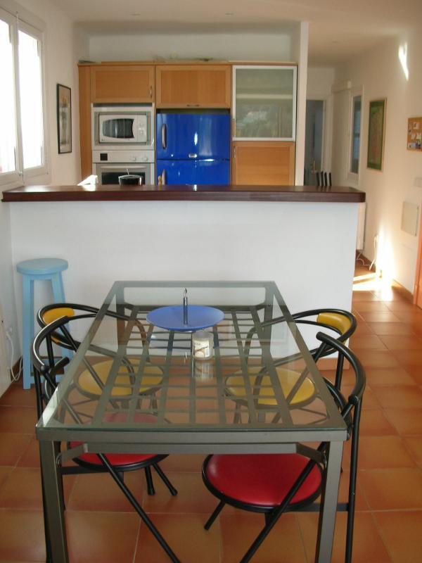 Open Plan living indoor dining room