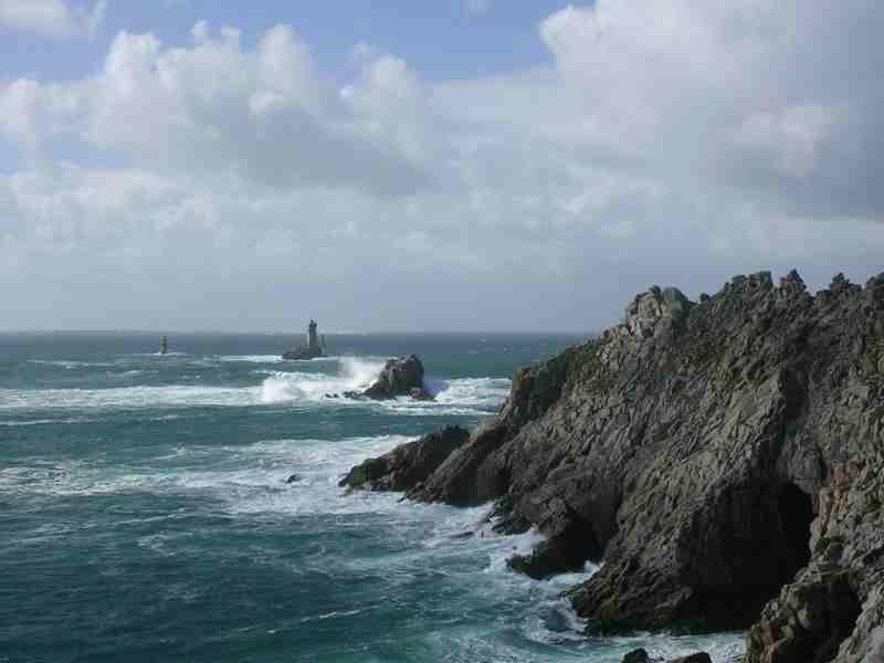 Pointe du Raz située à 1 km de la maison