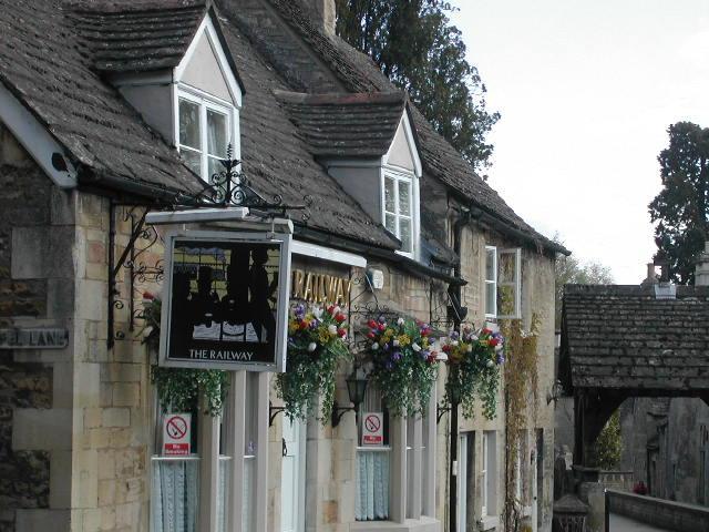 The local pub - The Railway