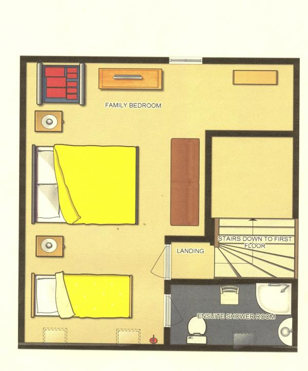Floorplan - Top Floor