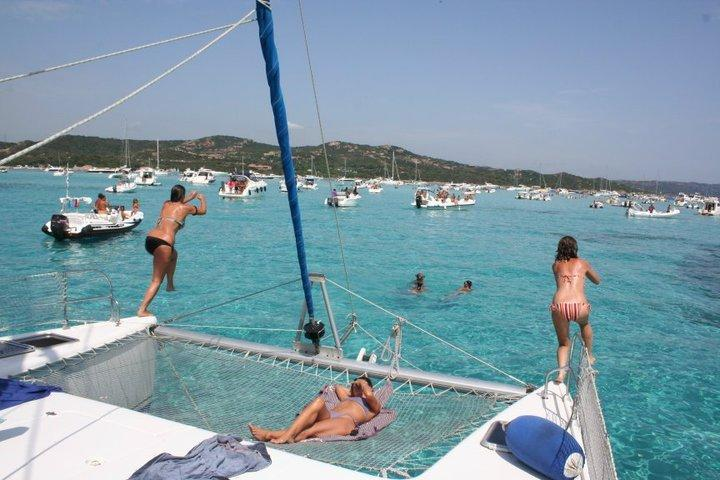 esterno catamarano - prua