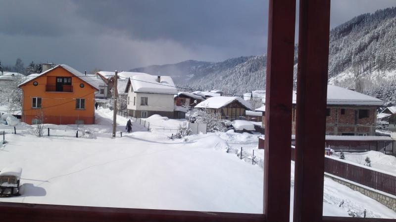 View From balcony winter months