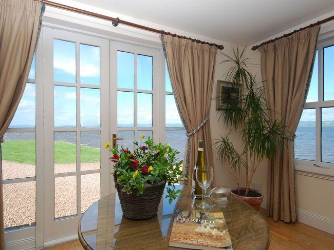 Relax in the drawing room and enjoy the view