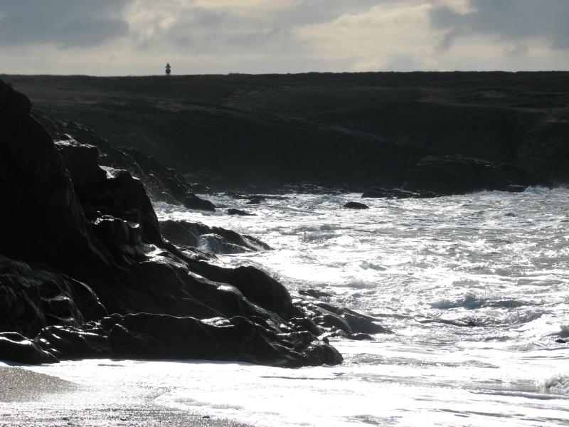 The Brittany coastline