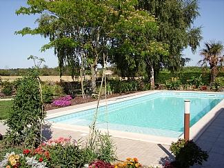 Heated Swimming Pool with Shallow End (children/non-swimmers),there are also Spa Jets and lights-FAB