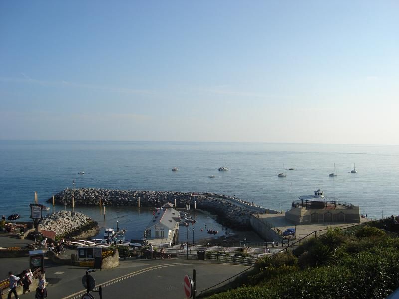 View towards the Winter Gardens and Ventnor Haven