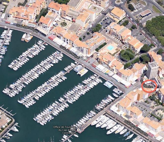 Localisation sur le port