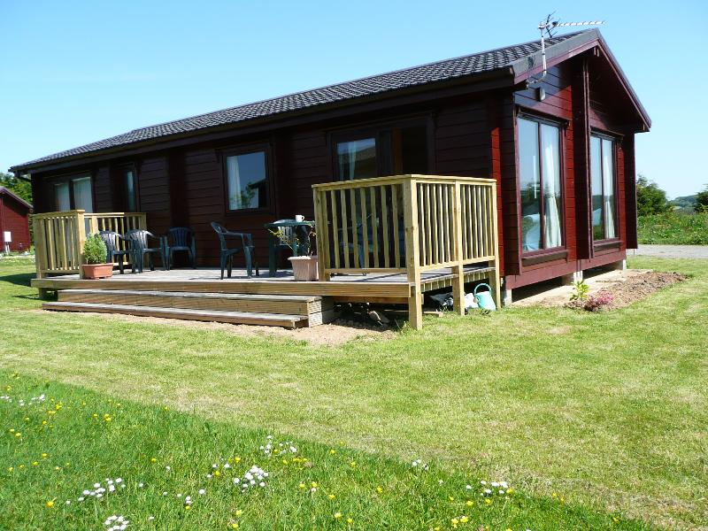 Lodge with patio