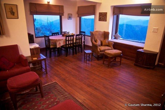 La sala de estar / comedor