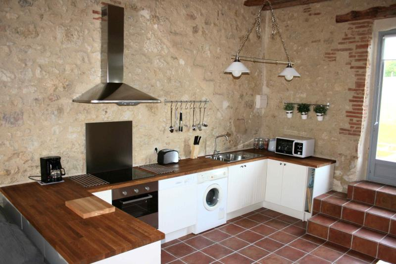 Fully Equipped Kitchen area in La Maison du Soleil