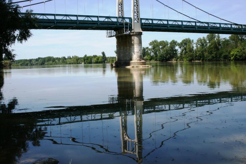 River Bridge over the Garonne at Auvillar
