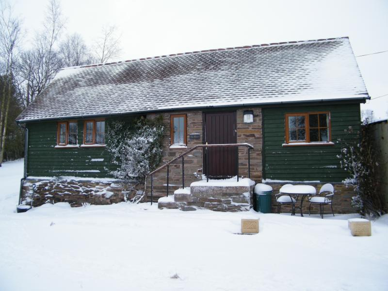 Keep warm by the log burner on days like this!
