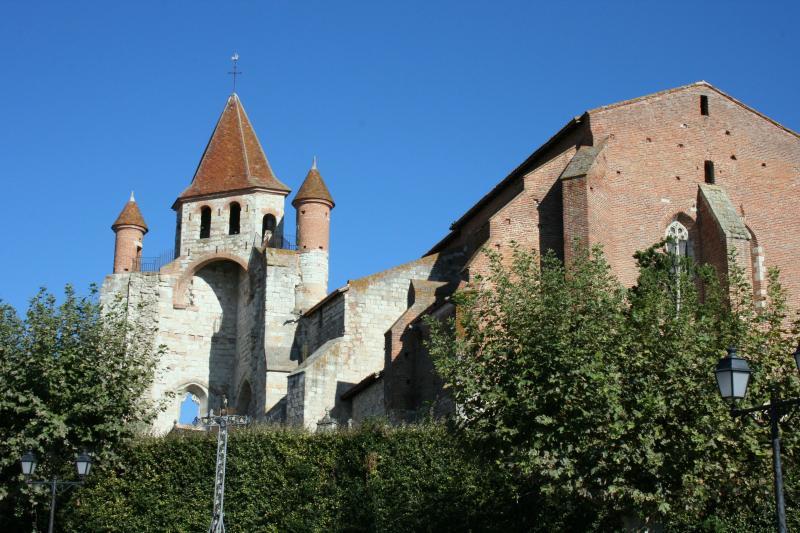 13th Century Church in Medieval Auvillar