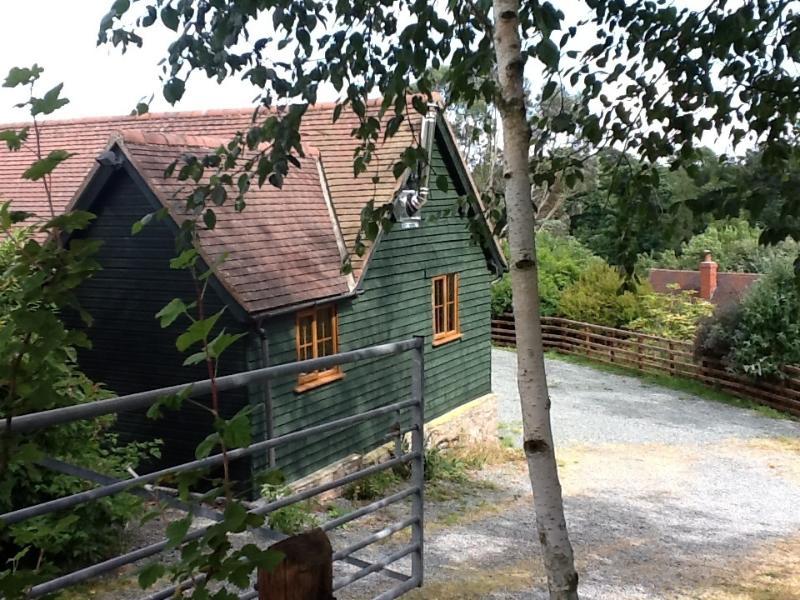 Enclosed area around the Barn