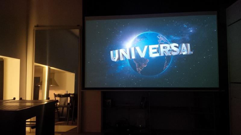 sala de estar: cinema em casa