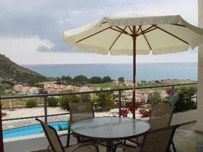 Beautiful sea and mountain views from balcony. The villa is superbly furnished for comfortable stay.