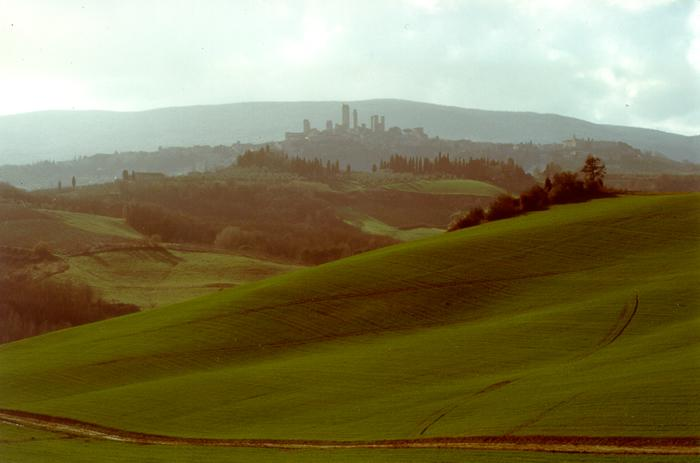 The beautiful San Gimignano!