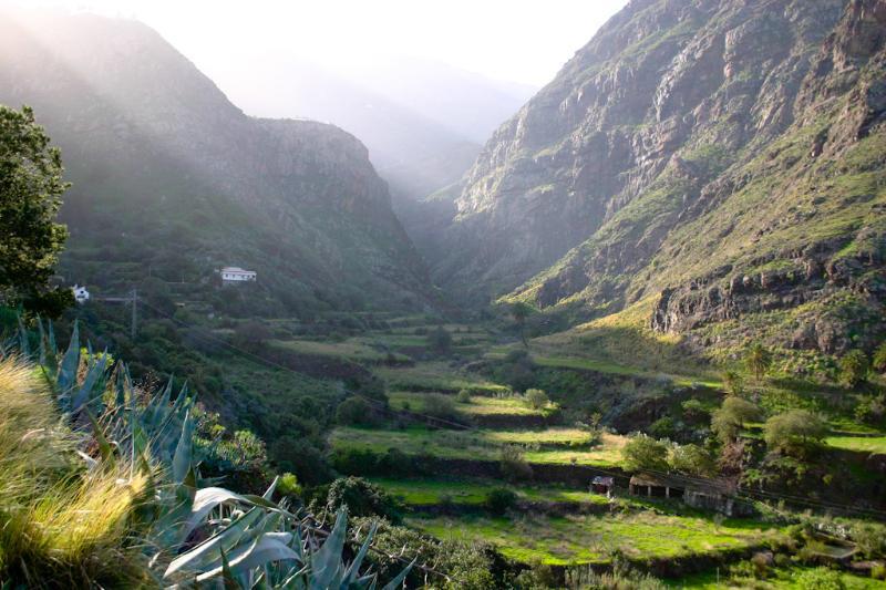 el valle de agaete
