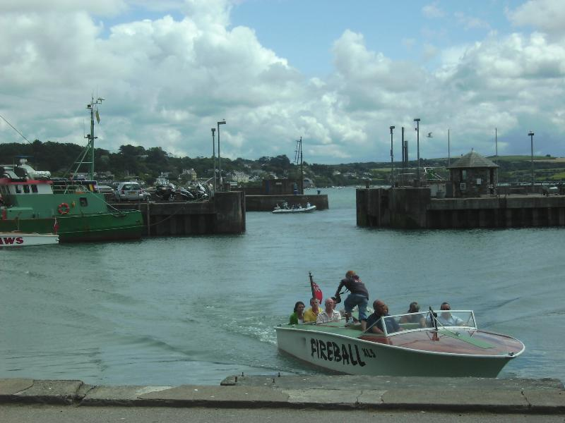 Padstow Harbour - offering fishing trips and ferry rides to nearby Rock
