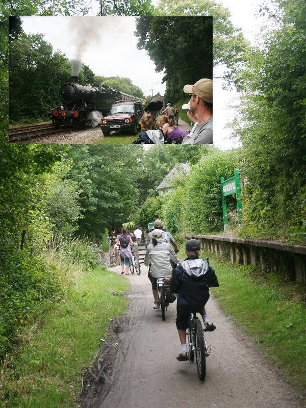 The Camel Bicycle Trail and Bodmin Railway - so much to do!