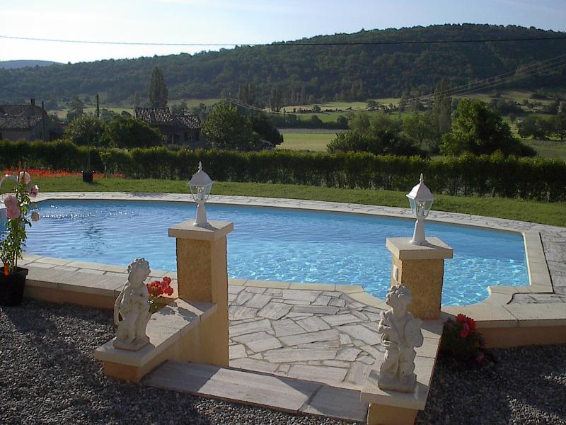Pool and View from Villa Emmanuelle