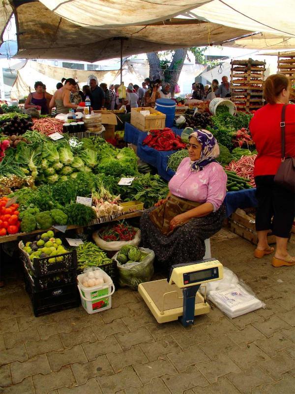 Market day each Saturday