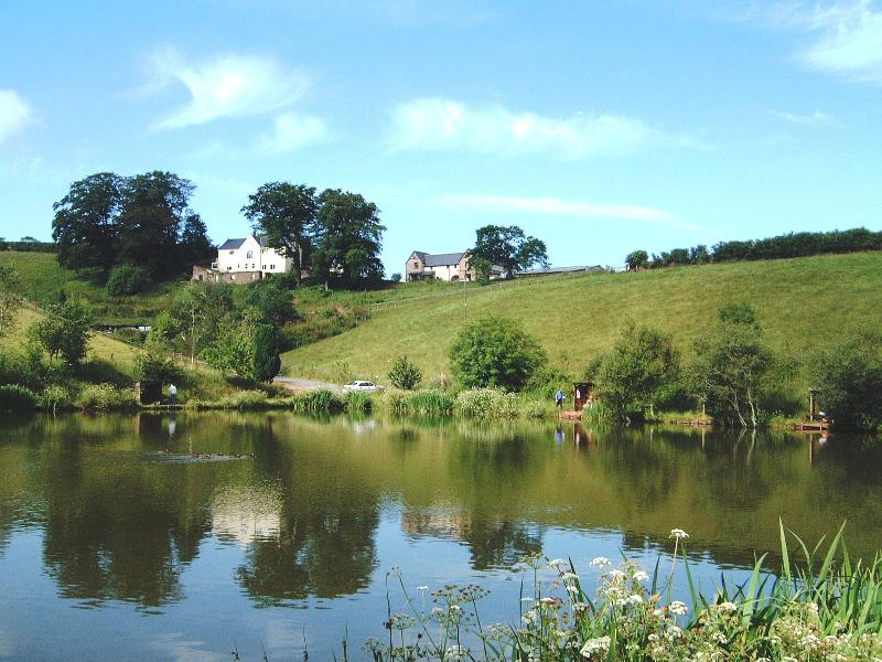 Badgers Holt at Newbarn Farm viewed from Mirror Lake