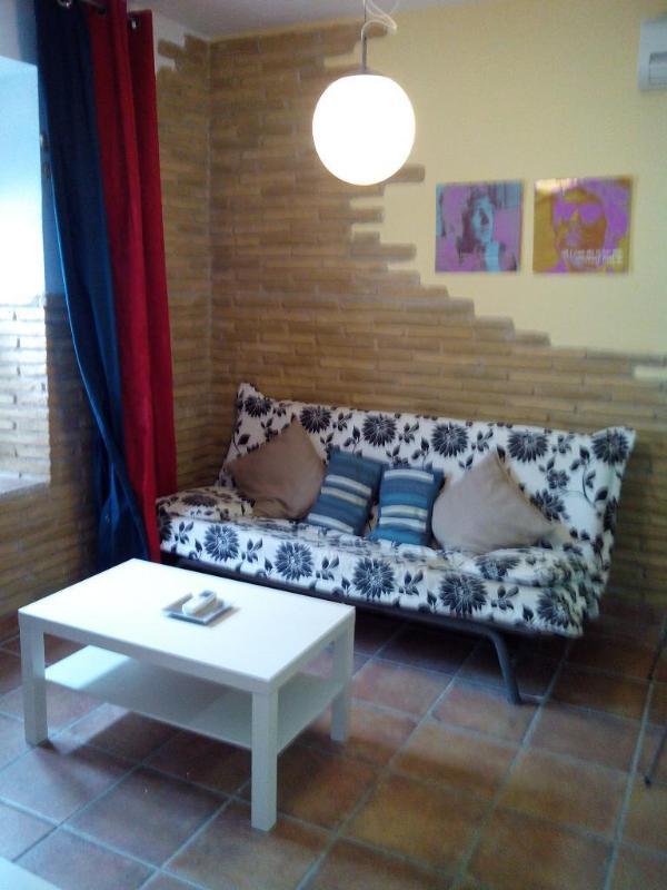 Salon avec divan-lit double