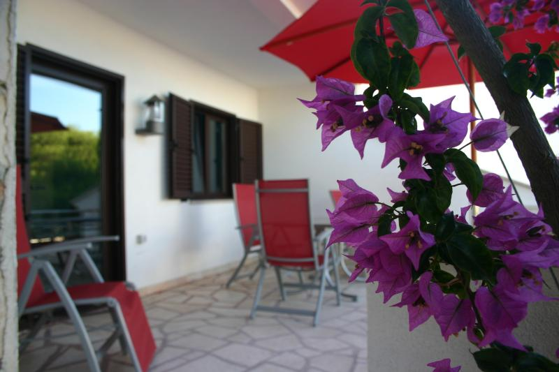 Enjoy your own private terrace for the morning breakfast or afternoon relaxation.