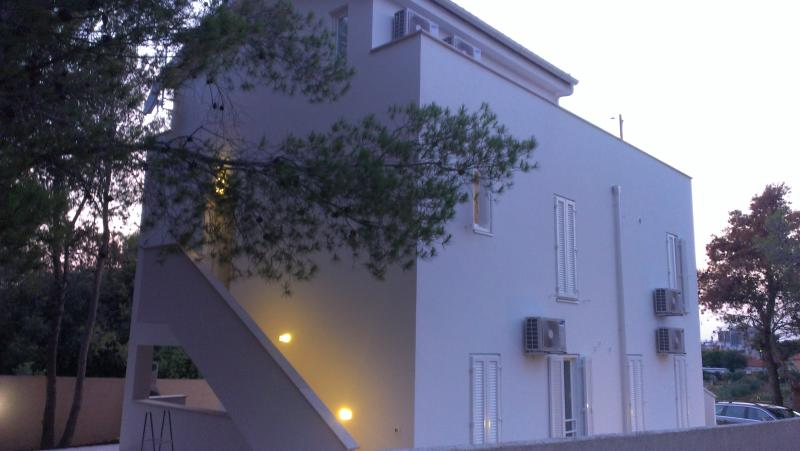 Outside view at night