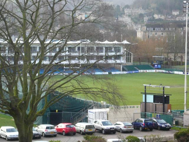 The Rugby Grounds from the Living Room