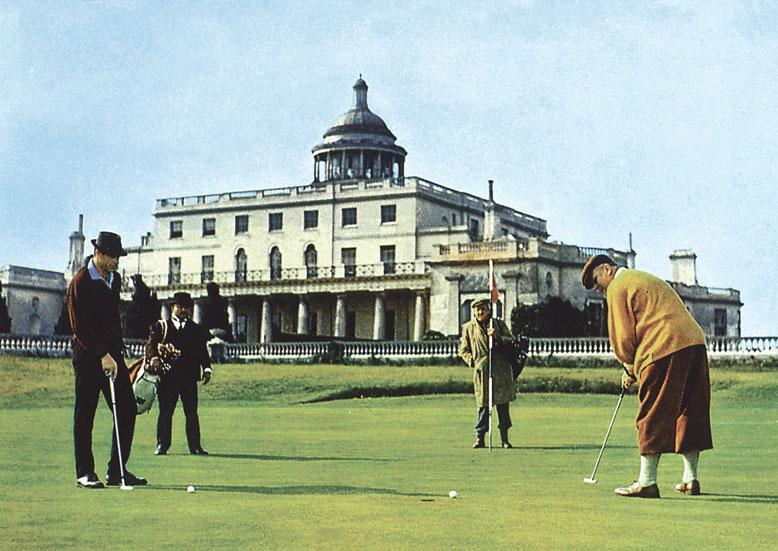 Play golf at Stoke Park (just like James Bond!) - 25 mins by car