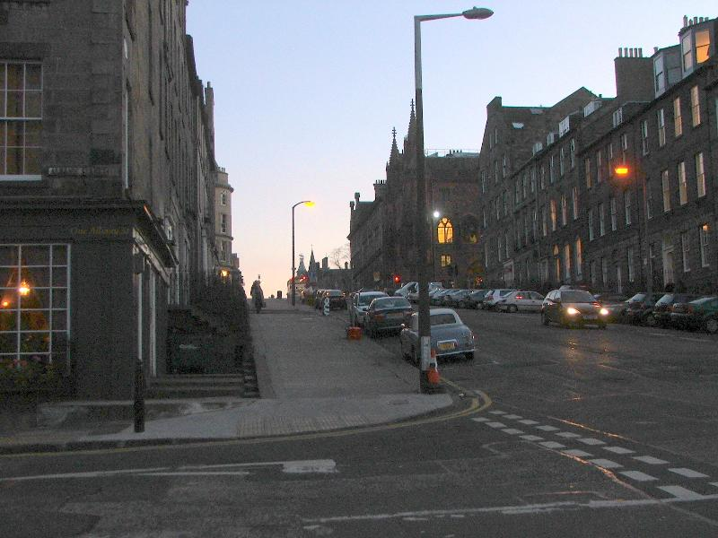 View towards Princes Street
