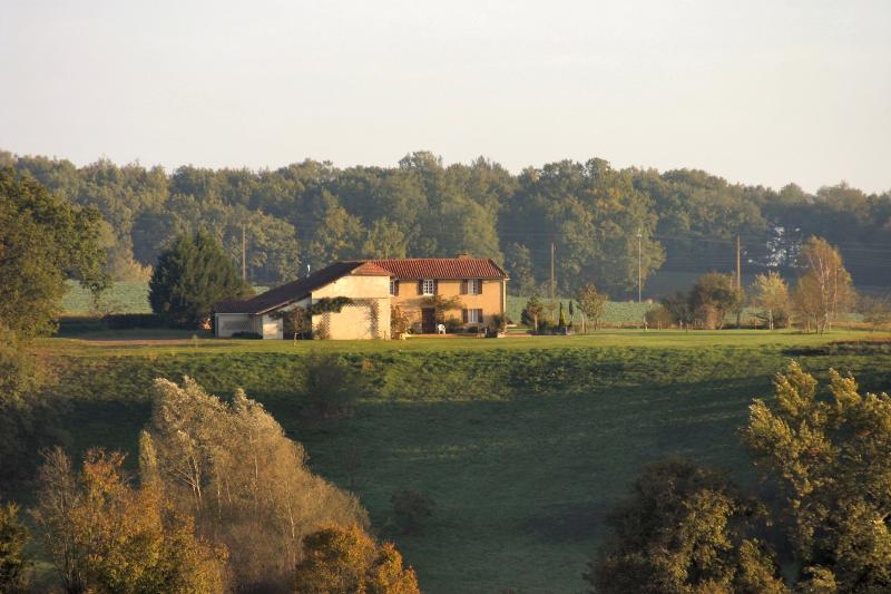 Surrounded by fields, Au Turoulon is a rural idyll