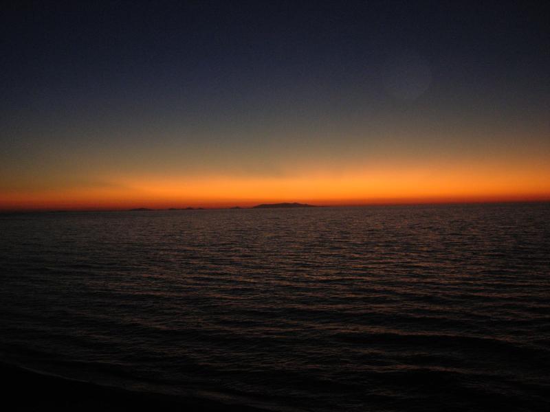 L'Asinara al tramonto