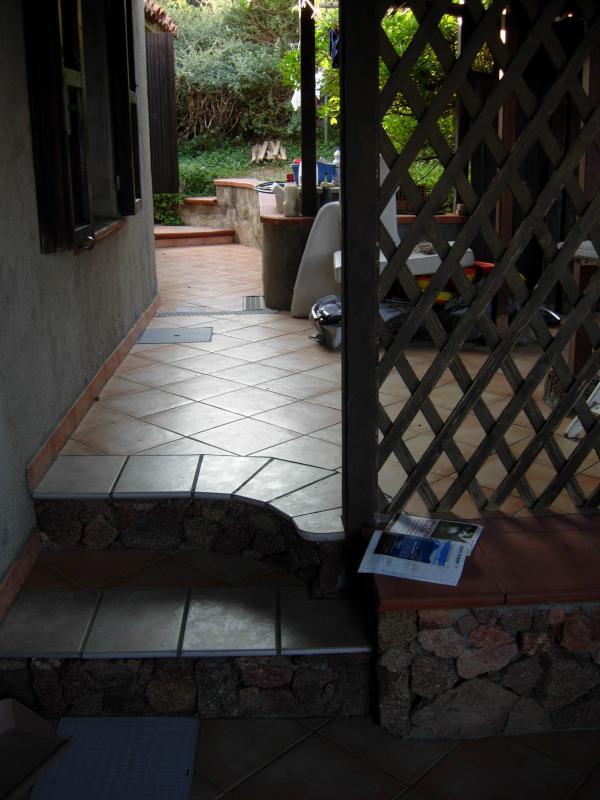 Zona relax del patio
