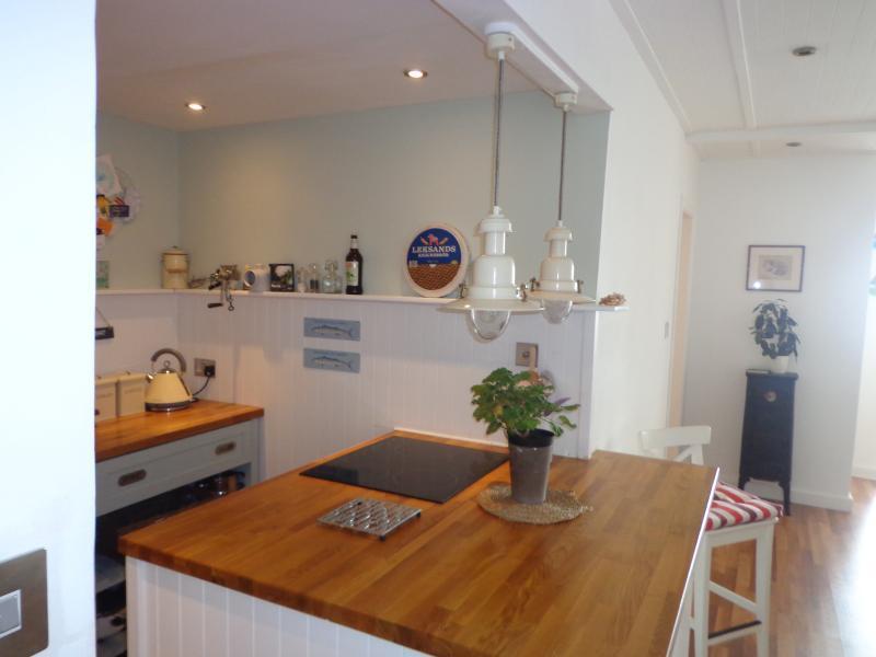 Nautical themed kitchen