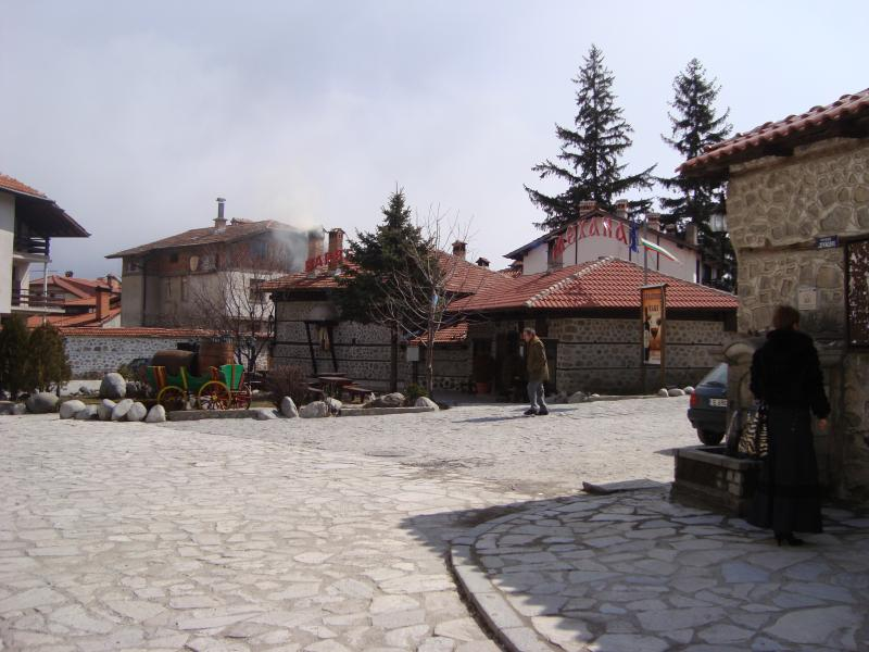 Rues pavées de la vieille ville