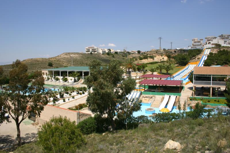 Water park in Quesada, within walking distance