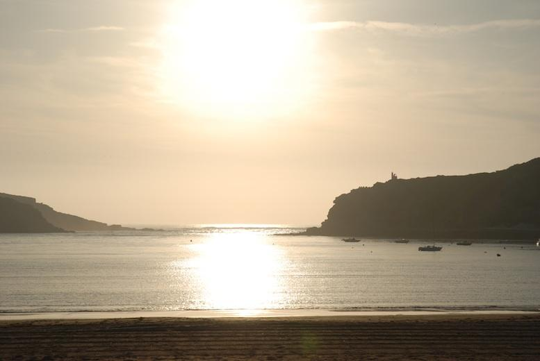 Sao Martinho do Porto sunset