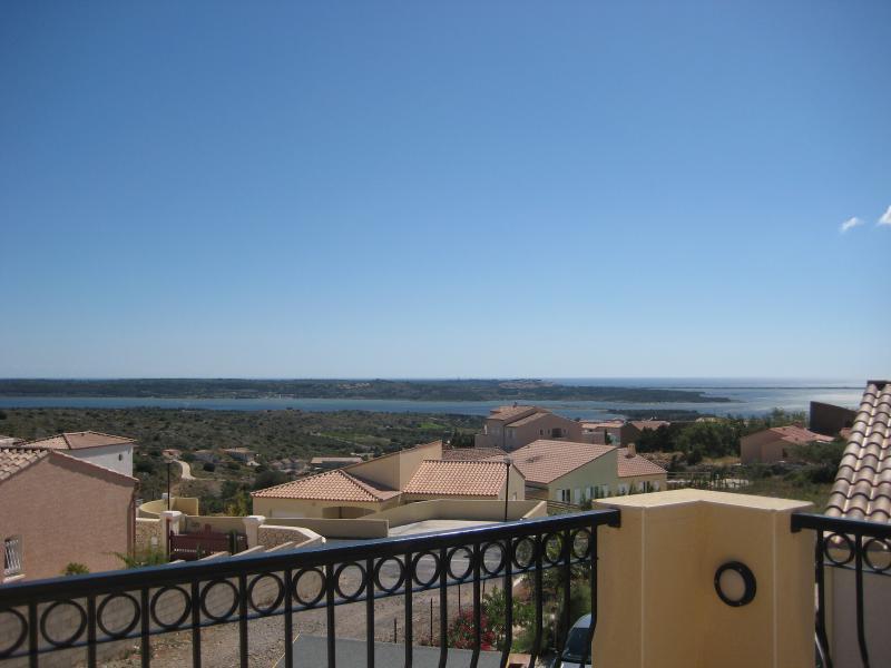 Vista di lagune & mare dalla terrazza superiore