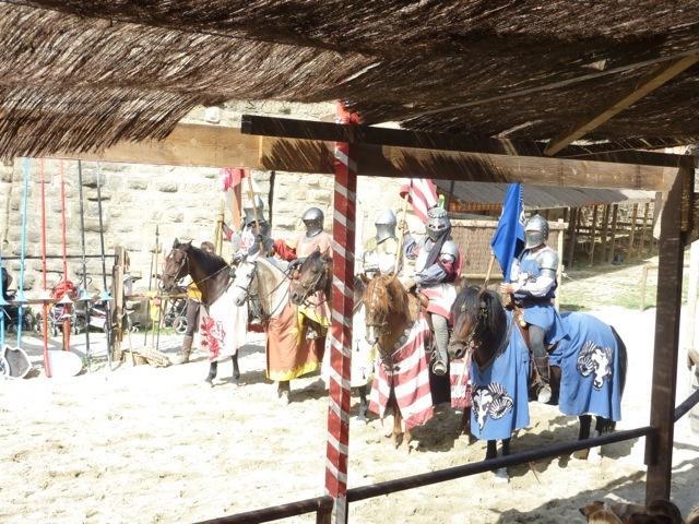 Jousting at Carcassonne Citadel