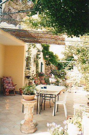 Diana's patio