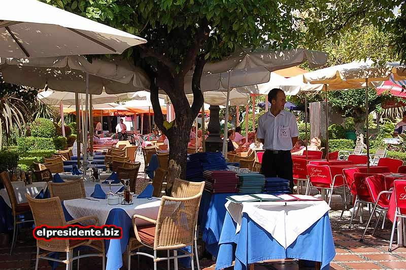 There are many wonderful restaurants in Marbella and Estepona