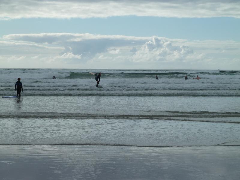 Learn to surf on nearby Carrowniskey beach