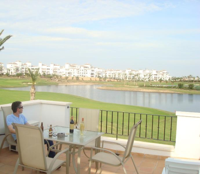 1st floor terrace with spectacular views overlooking the 16th hole