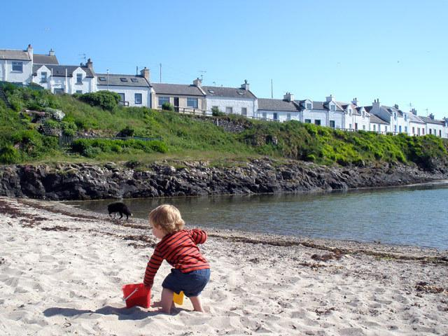 The Bay, Portnahaven, Isle of Islay, location de vacances à Kilchoman