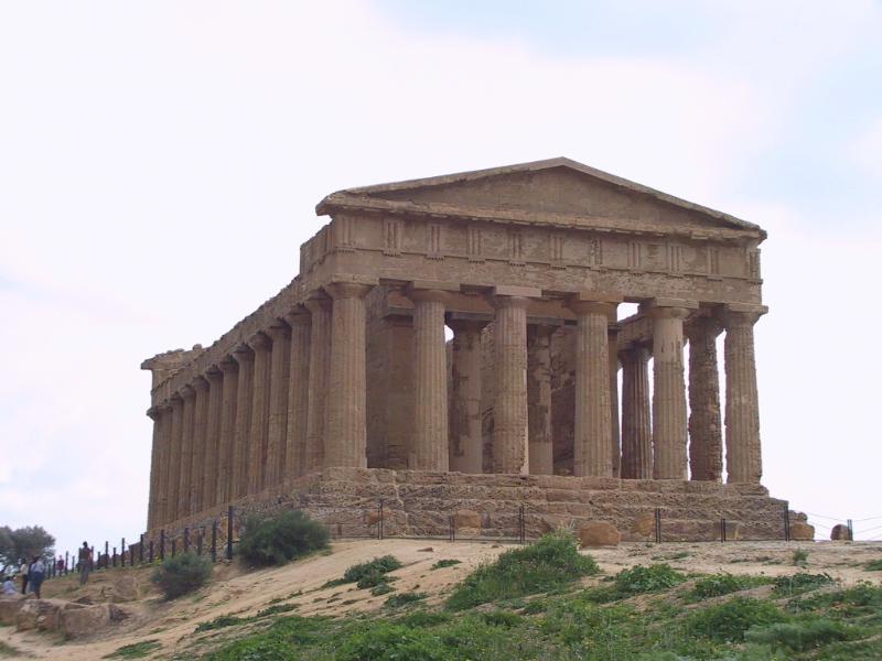 Vale dos Templos em Agrigento: o Templo de Concordia