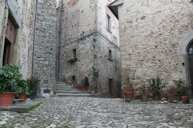 One of Anghiari's Courtyards