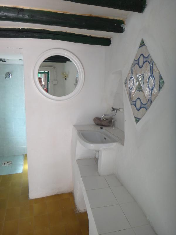 external bathroom